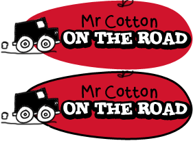 Mr Cotton on the Road
